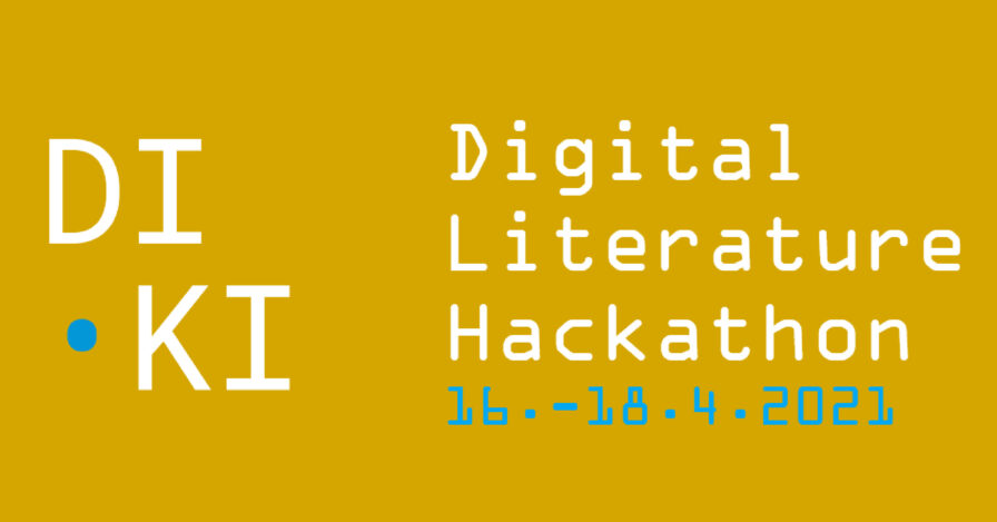 The Digital Literature Hackathon on 16th to 18th April 2021 – registration now open!